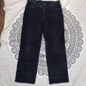 Patagonia navy blue corduroy pants
